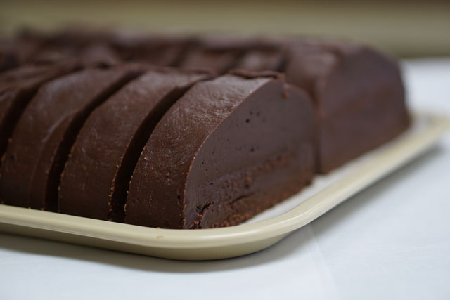 | Slice of Double Dark<br>Chocolate Fudge