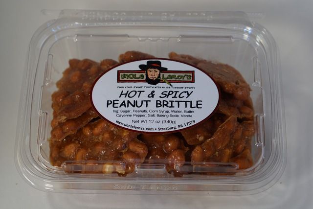 | Hot and Spicy Peanut Brittle